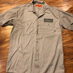 Dickies Shirts - Dickies Cuneo button down short large